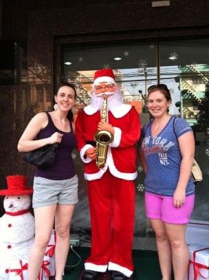 We found Santa in Thailand!