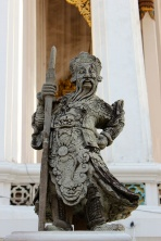 I like the 'tude this statue had