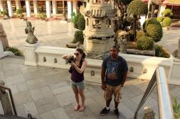 Crazy lady taking photos...