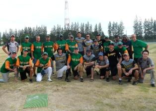 Softball buddies