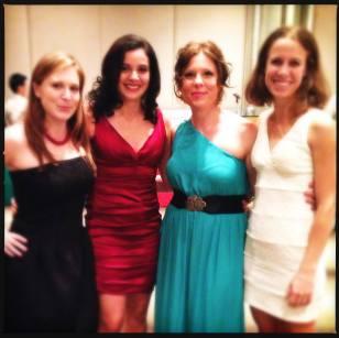 Me, Nancy, Jessica & Jenn