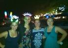 Ladies on Koh Samet, plus snazzy headbands
