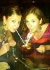 Sangria bowl between friends